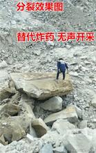 可以替代膨脹劑破裂石頭機器用劈裂機圖片參數圖片