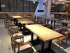 簡約咖啡廳桌椅組合實木奶茶店甜品店洽談桌椅主題西餐廳餐桌椅