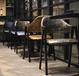 定制紙包魚桌子咖啡廳西餐廳甜品店餐臺奶茶餐飲店快餐桌椅組合a字椅
