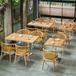 鐵藝溫莎椅咖啡廳餐桌椅奶茶店甜品休閑餐廳酒店飯店快餐桌椅組合