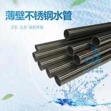贵州不锈钢输送水管304卡压式不锈钢管件不锈钢薄壁水管厂家图片