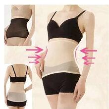 腰封的作用女士薄款透气产后收腹带锗钛银网纱塑身腰带束腹束腰带束缚带P76图片