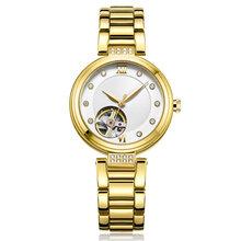 深圳女裝機械手表訂做高檔商務金鉆女表生產貼牌加工圖片