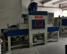 銅川輸送式自動噴砂機散熱板表面處理設備不變形噴砂