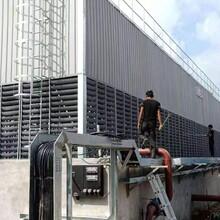 上海厂家方型横流式冷却塔方形横流降温塔冷却降温及维修图片