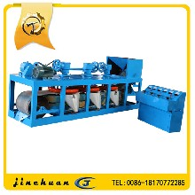 CP3三盘带式磁选机高强磁磁选机图片