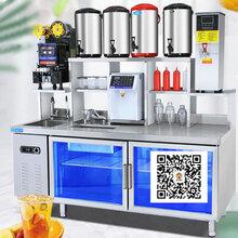 开奶茶店的设备要多少钱,奶茶机设备有限公司,河南隆恒服务一流图片