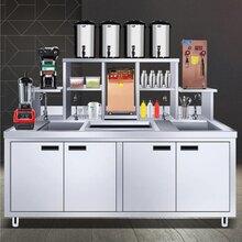 奶茶店机器,奶茶制作的机器设备,河南隆恒品质精良