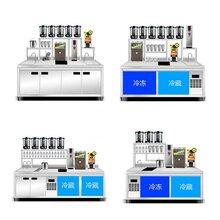 奶茶杯子機器,一套做奶茶設備價格,河南隆恒放心品質