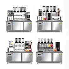 开奶茶店需要那些机器,奶茶制作机,河南隆恒厂家直销图片