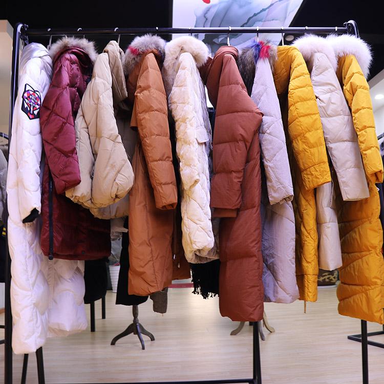 广州品牌女装折扣公司哪家有SMCOCO冬装羽绒服货源