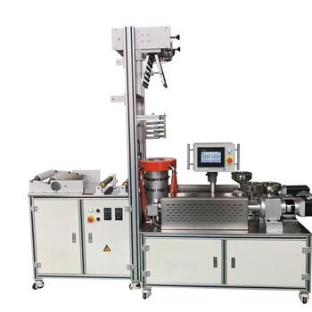 ZS-430B-25PA三层供挤吹膜机ABS挤出吹膜机实验室小型吹膜机PVC落地式吹膜机