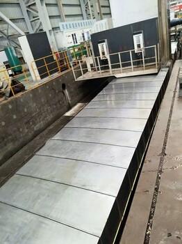 龙门铣床护罩机床铣床加工中心钢板导轨防护罩厂家