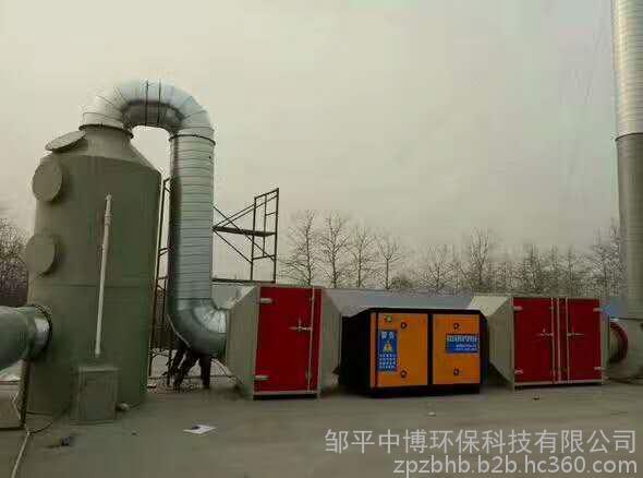 废气处理-UV光解净化设备