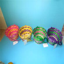 现货批发幼儿园小童篮手编儿童竹篮子装饰竹编复活节篮定制