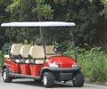 东莞厂方直销电动观光车,高尔夫球车红色,型号A1S6+2