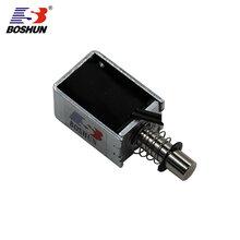 箱柜电磁锁DC24V推拉式BS0730L系列厂家直销