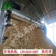 沙場污泥壓榨機,打樁泥漿壓濾機,帶式壓泥機,河道泥漿壓榨設備圖片