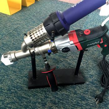 PE管道塑料挤出焊枪保温弯头排水管道焊接土工膜化工槽焊接机