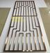 8K镜面铝板雕刻镂空花格酒店装饰屏风隔断