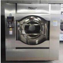 賓館洗滌那個品牌好用洗脫機120公斤烘干機燙送布機圖片