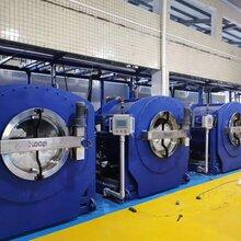 傾斜式洗脫機130公斤洗滌設備工業洗衣機烘干熨燙機洗脫機圖片