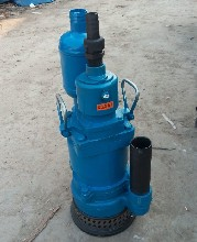 QYW叶片式风动排污排沙潜水泵,QYW25-45潜水泵厂家图片