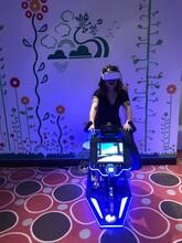 上海VR自行车设备、VR动感赛车设备出租租赁图片