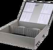 廠家直銷通訊產品-72芯冷軋板光纖分箱-法蘭支架式---