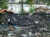 东莞施工钢板桩围堰(清理仓库)回收PVC废电缆