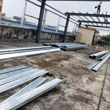 承接搭棚,搭铁棚,钢结构厂房、板房、焊接钢构图片