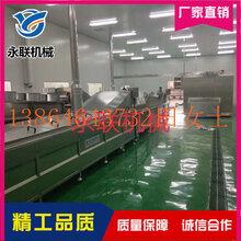 全自动商用玉米蒸煮设备大型海鲜蒸煮漂烫流水线设备厂家图片