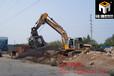 石粉水洗設備挖機滾筒篩石子篩分斗
