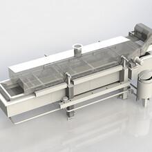 豆制品油炸生產線全自動豆制品油炸線圖片