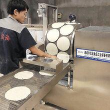 新型加热方式烤鸭饼机电磁加热烤鸭饼机图片