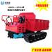 廠家直銷電啟動小型履帶運輸車1T液壓起降履帶自卸農用拖拉機