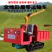 自卸履帶式田間農用運輸車柴油大馬力石塊搬運水田肥料糧食轉運車