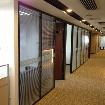 惠州专注中空玻璃夹百叶窗隔断