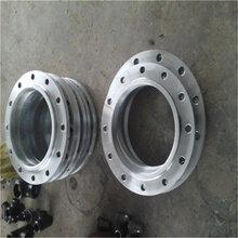 广安DN300锌合金榫槽面法兰尺寸