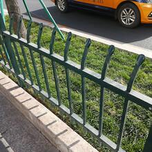 鋅鋼草坪護欄城市園林綠地欄桿柵欄花圃綠化帶護欄圖片