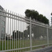 圍墻防護柵欄小區圍墻護欄景區鋅鋼護欄