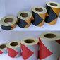 黑黃反光膜生產紅白反光膜批發價格單色反光膜價格質量保證圖片