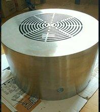 西瑪電機不銹鋼電機風罩南陽防爆電機不銹鋼風罩定做圖片
