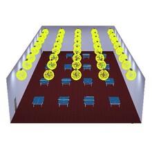 专业比赛型乒乓球室照明灯具,乒乓球馆专业灯光,专门用于乒乓球室照明