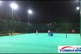 室内外网球场照明灯,网球场灯位布置,网球场LED灯