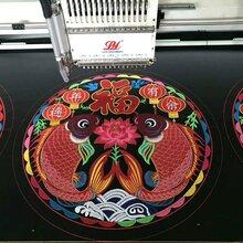 高速绣花机云南贵州地区销售图片