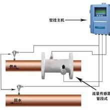 大連海峰TDS-100R管段式超聲波熱量表大口徑熱量表圖片