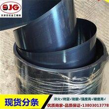 天津淬火钢带65mn热处理淬火带钢高硬度高强度现货分条图片