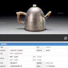 清代时期锡壶国内拍卖价格成交价一览