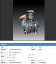 景泰蓝北京保利近年拍卖纪录拍品欣赏